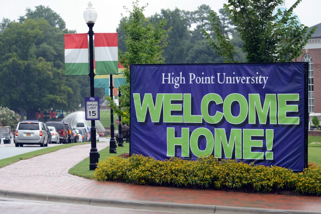 HPU Move In Day Welcome Home