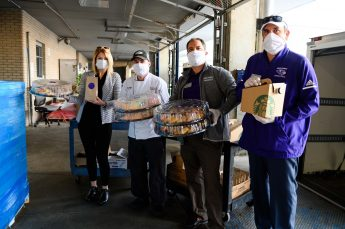 HPU Dining Donates Food to High Point Medical Center on National Nurses Day
