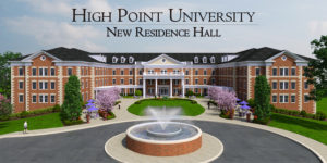 HPU New Residence Hall Rendering