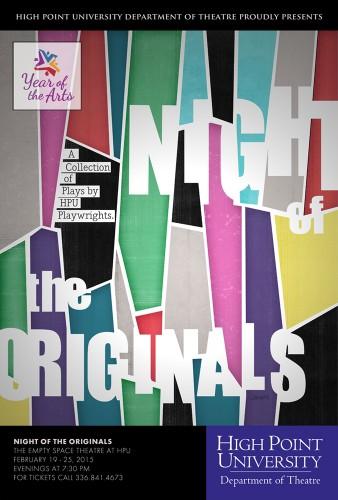 Theatre Department to Premiere 'Night of the Originals'