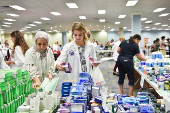 Community Partners Host Free OTC Medicine Giveaway