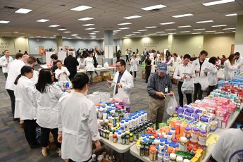 Community Partners Host Free Medicine Giveaway