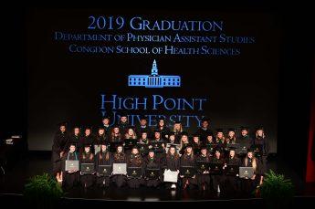 HPU Graduates Third Physician Assistant Class