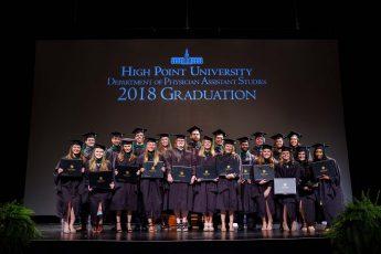 HPU Graduates Second Physician Assistant Class
