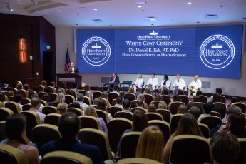 HPU Welcomes Fifth PA Cohort at White Coat Ceremony