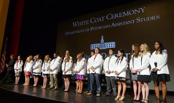 HPU Welcomes Second PA Cohort with White Coat Ceremony