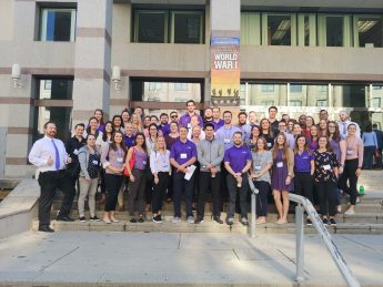 Physical Therapy Faculty and Students Participated in Advocacy Day