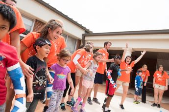 Physical Therapy Students Connect with Local Children