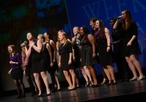 HPU High Point University Petal Points a cappella