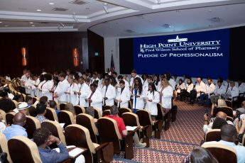 Pharmacy Students Join HPU's Campus and the Community