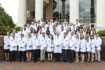 First Pharmacy Students Receive White Coats