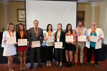 HPU Inducts New Members into Phi Beta Delta