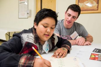 HPU Bonners, Children Showcase Poetry Created in Afterschool Programs