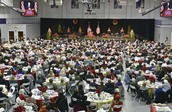 Prayer Breakfast Rings in Holidays, Honors Coble and Triad Leaders