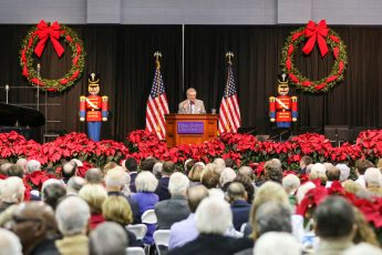 HPU's 46th Prayer Breakfast  Rings in Christmas