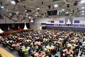 HPU's 47th Annual Prayer Breakfast  Rings in Christmas