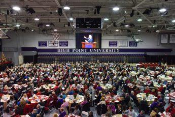HPU's 48th Annual Prayer Breakfast Rings in Christmas