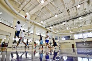HPU Rec Slane Basketball Court