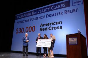 Hurricane Florence $30,000 Donation