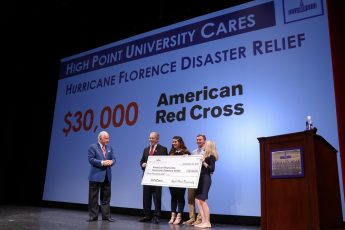 HPU Raises $30,000 for Hurricane Florence Relief