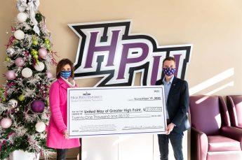HPU's Student Government Association Donates $21,000 to Community Organizations