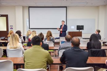 Pharmacy Students Honored by North Carolina Insurance Commissioner Mike Causey