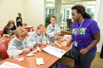 Science in the Summer: HPU's STEM Camp Kicks off for Local Kids