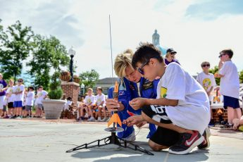 Having a Blast: Kids Launch Rockets at HPU STEM Camp Finale