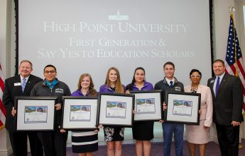 'Signing Day' Held for Say Yes Scholarship Recipients