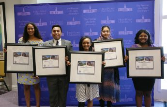 HPU Holds 'Signing Day' for Say Yes Scholarship Recipients