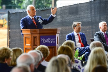 HPU, Gov. McCrory Celebrate Ground Breaking for Pharmacy and Health Sciences