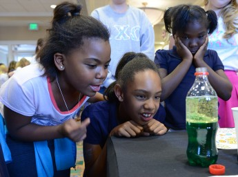 Slime Time: Students Host Science Fair for Boys and Girls Club
