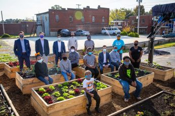 HPU's Sigma Nu Fraternity Raises Funds for Community Garden and Health Initiatives