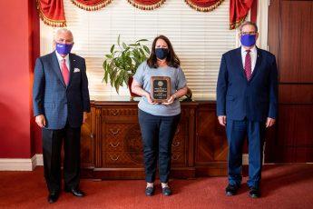 HPU Recognizes Exercise Science Professor with Slane Distinguished Teaching-Service Award