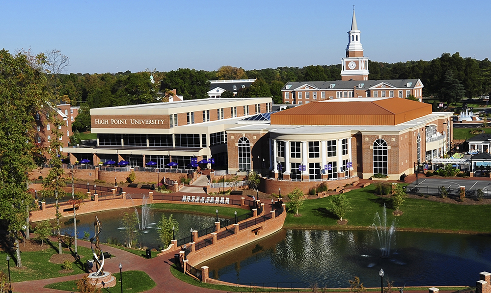 1 In Nation, High Point University : High Point