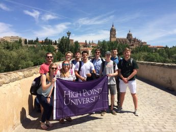 Students Explore Marketing in Spain During 'Maymester' Trip