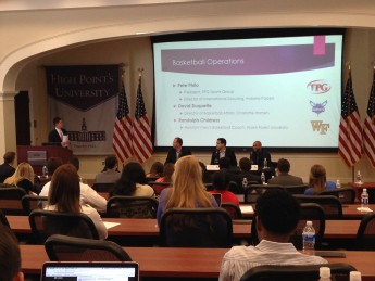 HPU Hosts Sports Management Conference