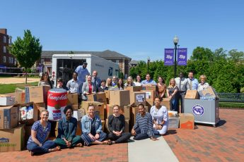 HPU Family Donates to United Way's 'Stamp Out Hunger' Food Drive