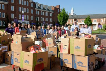 HPU Kicks Off 'Stamp Out Hunger Drive' with Largest Single Donation