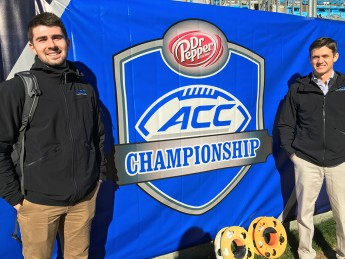 Students' Internships Lead to ACC Championship Game