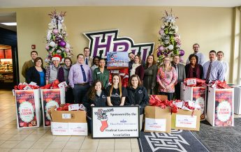 Students Fill 1,100 Stockings for  Local Children