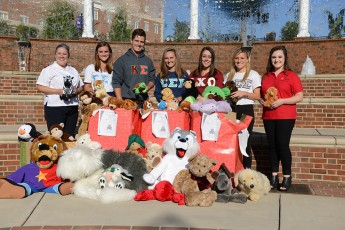 Students Collect Hundreds of Stuffed Animals for The Salvation Army