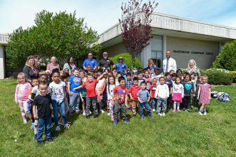 HPU Plants Tree at Shadybrook Elementary to Honor NC Arbor Day