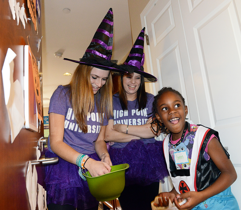 HPU Students Host Trick-or-Treating Event for Local Children, High ...
