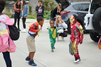 HPU's Zeta Tau Alpha Sorority Hosts Trunk-or-Treat for Community Children