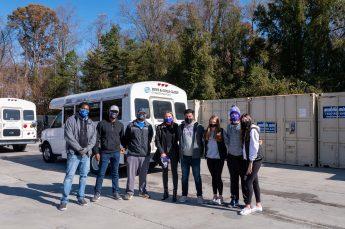 HPU Sales Club Donates Turkey Dinners to the Community