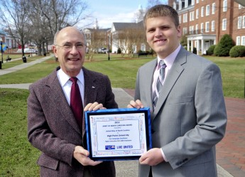 HPU Honored as a Leading Contributor to the United Way