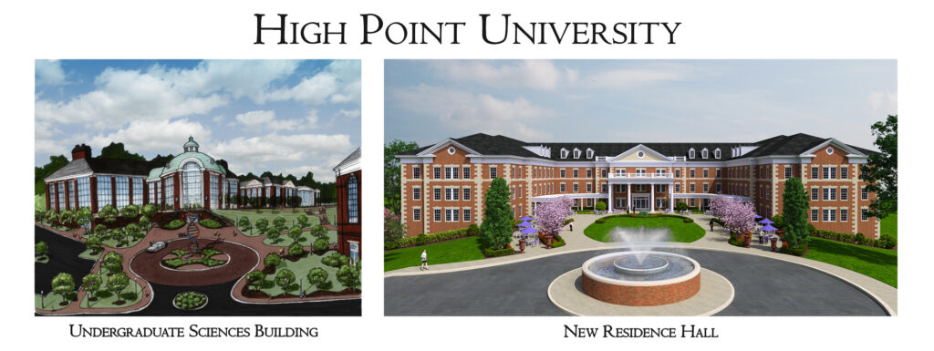 HPU Undergraduate Sciences Building and New Residence Hall_branding outside copy