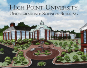 Undergraduate Sciences Building Rendering