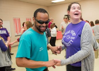 HPU Students Host Valentine's Day Dance for Individuals with Disabilities